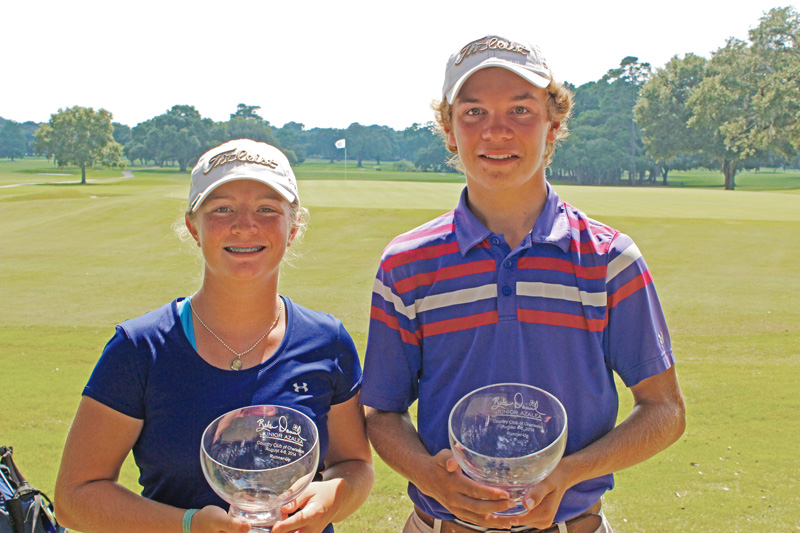 Runners-up Kathleen Sumner and Wil Sheppard