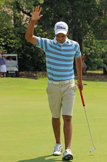 Rigel Fernandes birdies 18 to complete big win