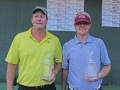 Champions Scotty Davis and Jeremy Moore