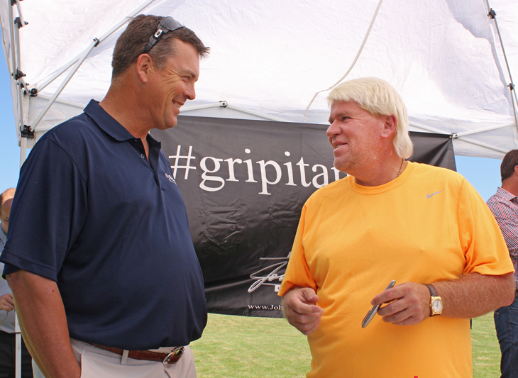 John Daly with Sean Fister