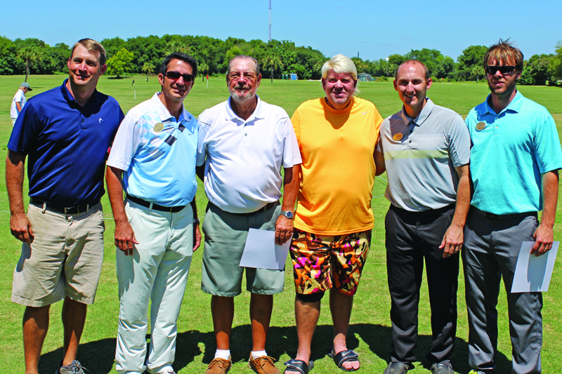 John Daly with Patriots Point staff
