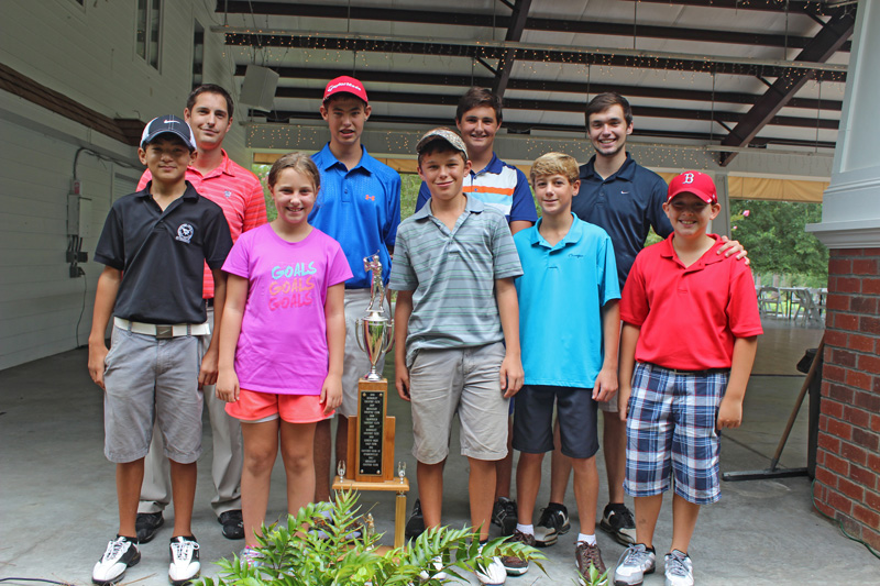 Berkeley Country Club championship team