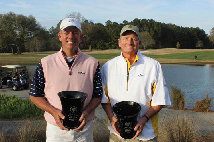 Champions Duff Wagner and Todd Hendley