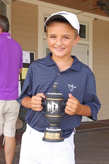 Boys 8-9 Champion Waymon Thomas