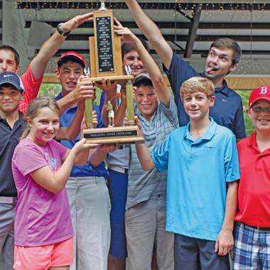 Berkeley Country Club Junior Interclub team