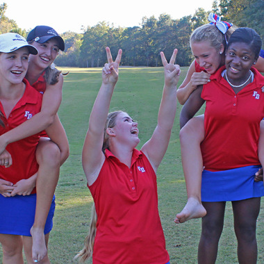 Host Fort Dorchester shaved 93 strokes off its team score from the 2013 state championship